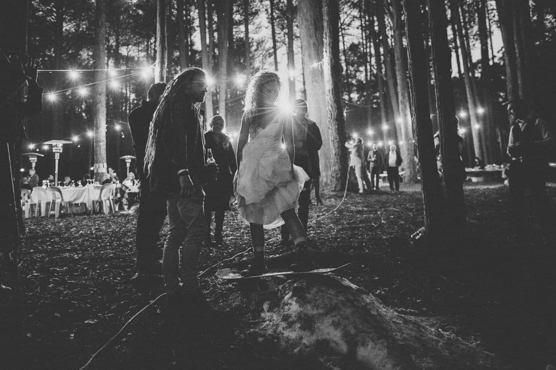 Adventure-filled Watagans forest wedding NSW