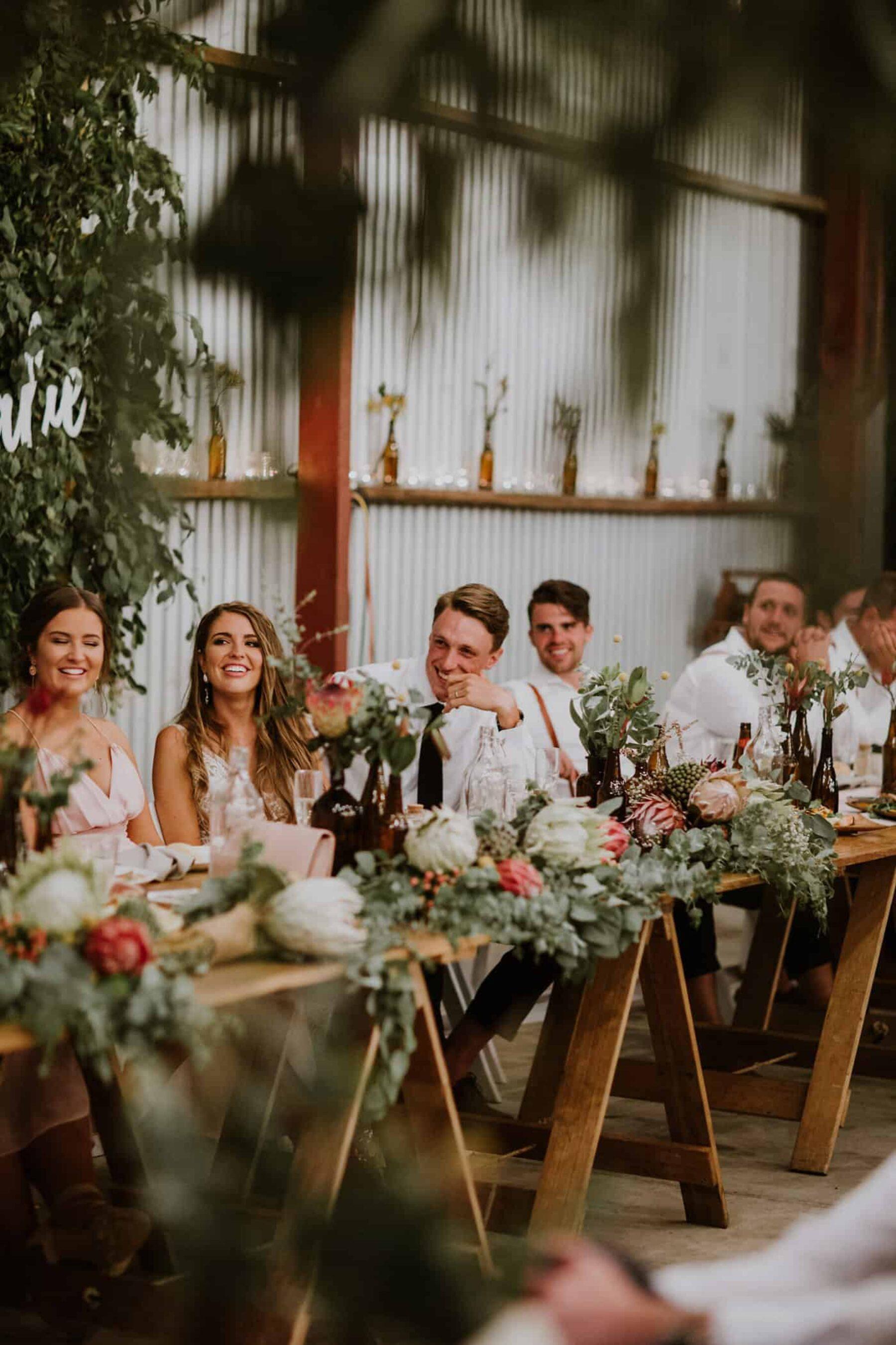 Yarra Valley farm wedding with epic DIY florals / Elsa Campbell Photography