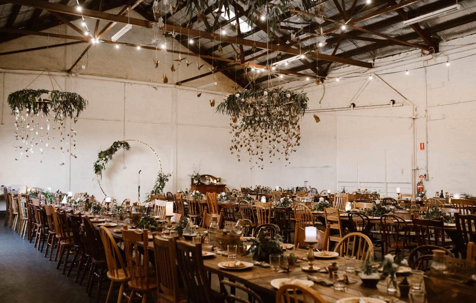 barn wedding at Perth City Farm