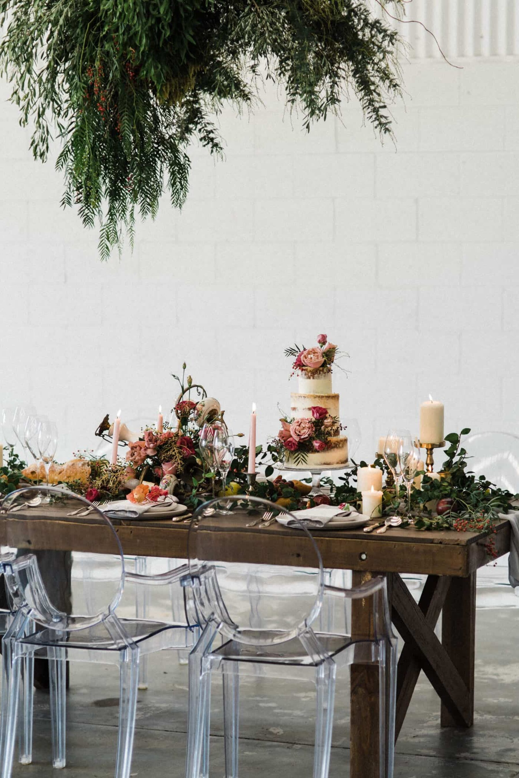 rustic provincial table setting