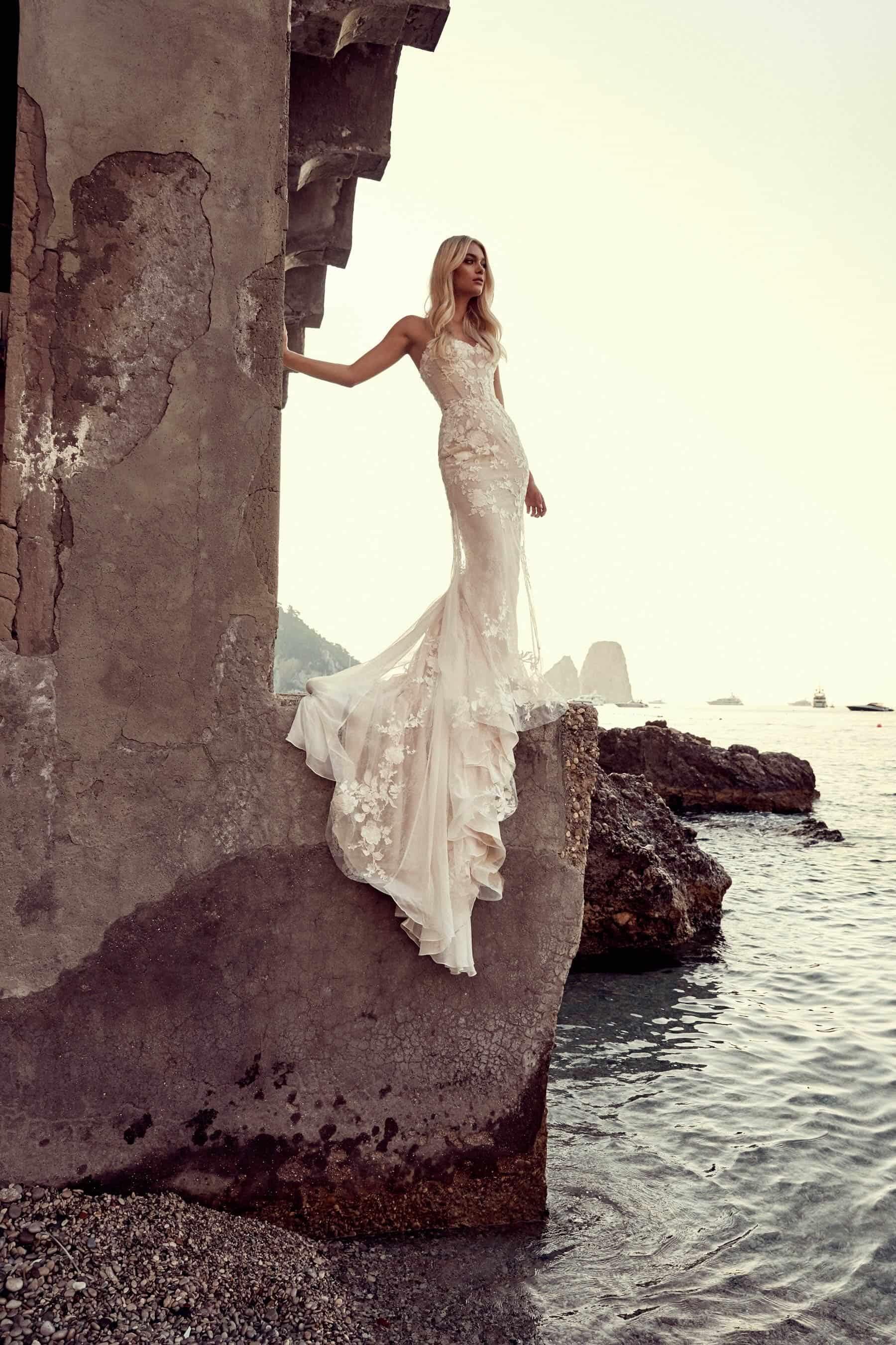 modern wedding dress by One Day Bridal