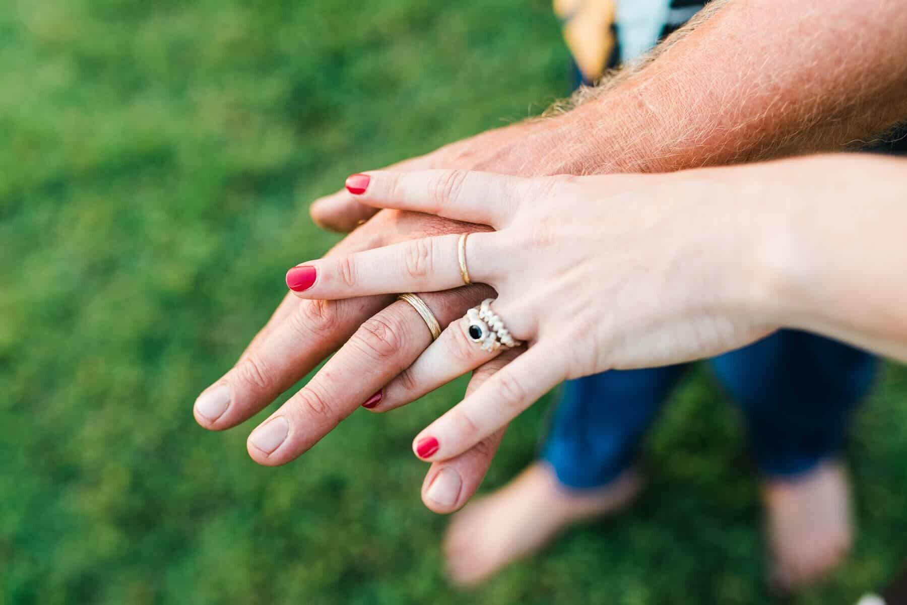 unique handmade wedding and engagement rings