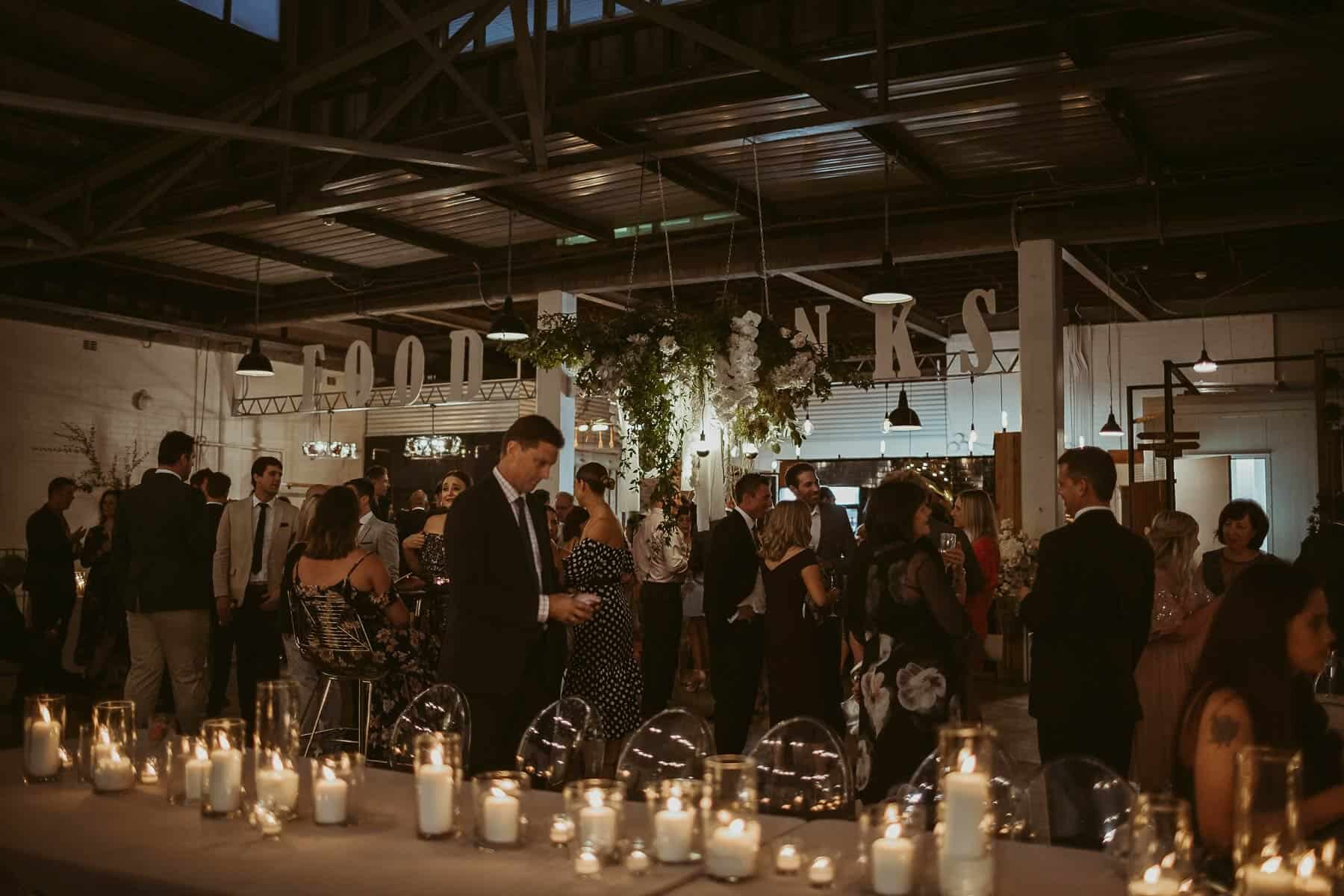 Perth wedding at the Old Pickle Factory
