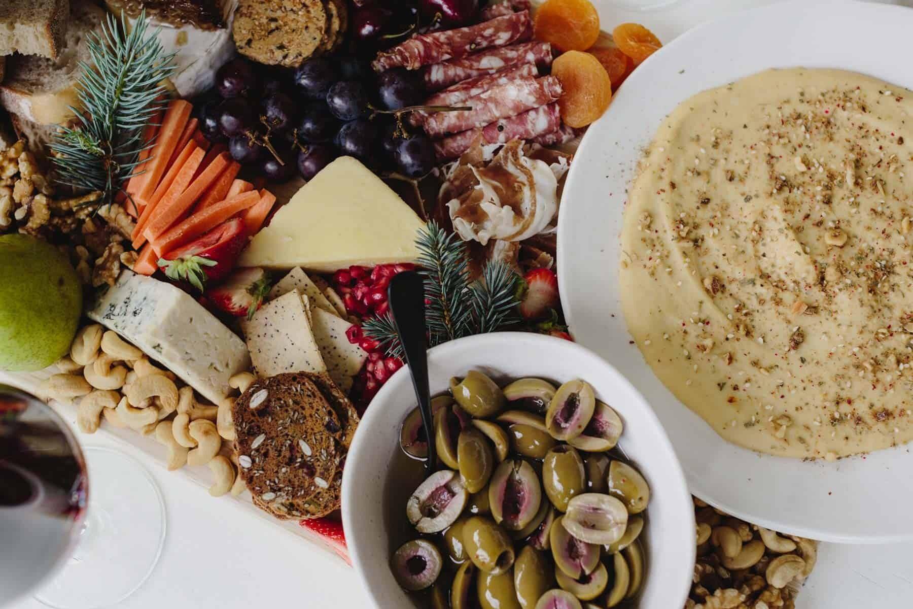 a modern Australian Christmas lunch