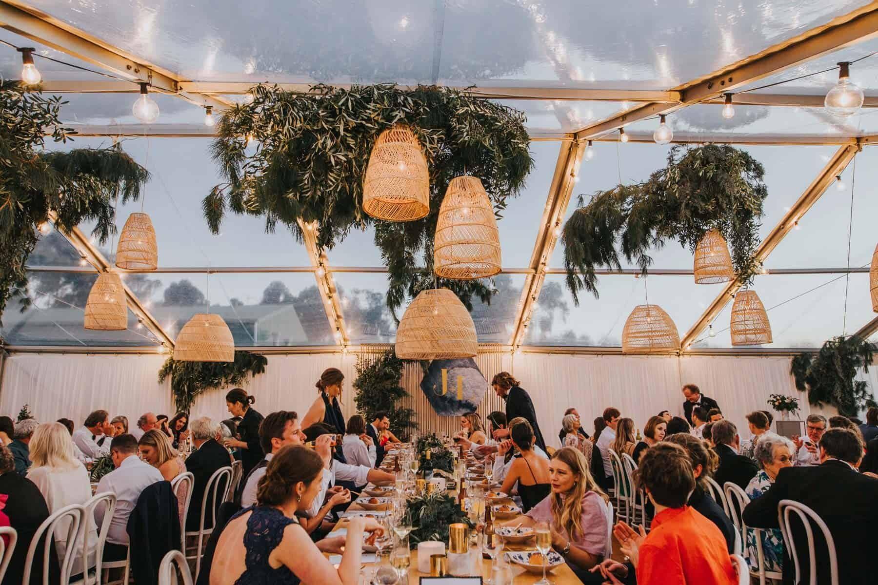 glasshouse marquee wedding Margaret River