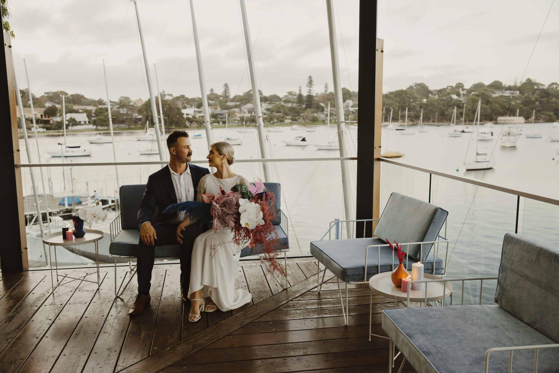 Royal Freshwater Bay Yacht Club wedding Perth