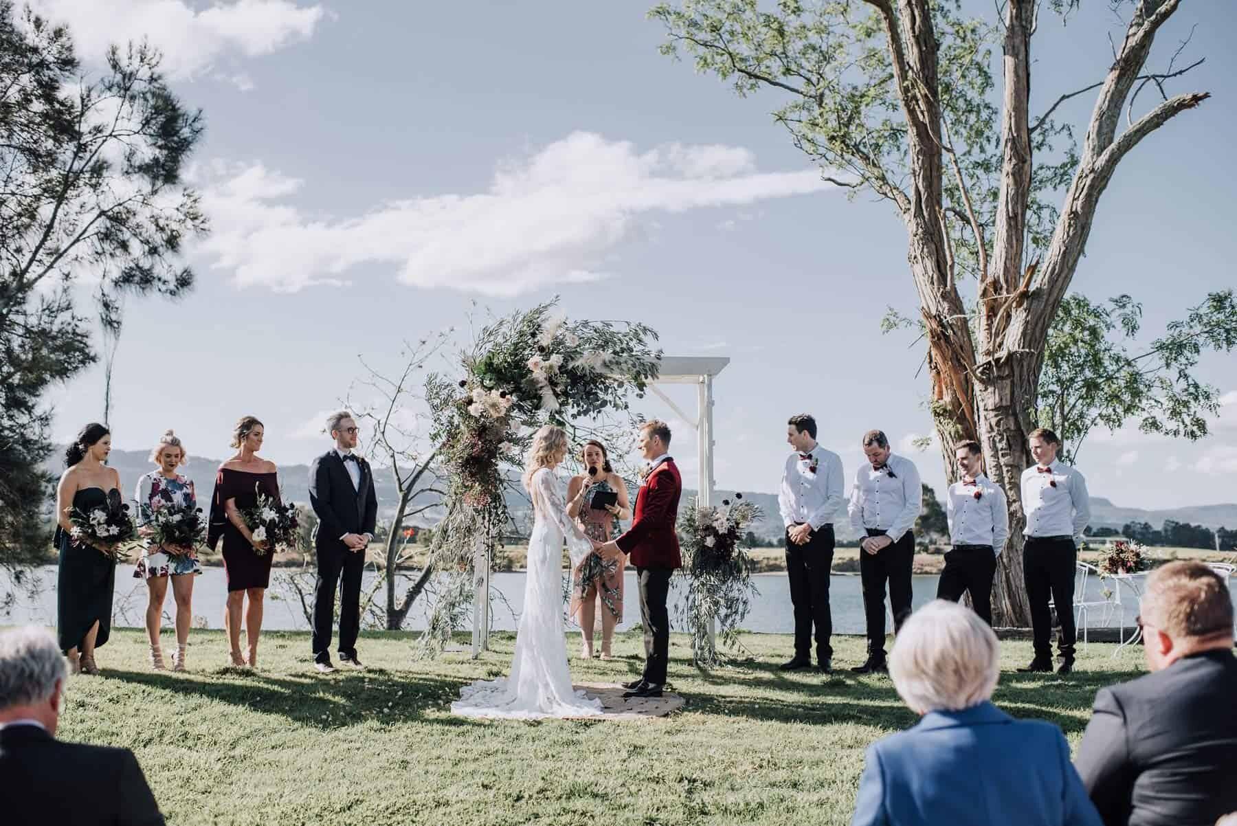DIY garden party wedding at Terara Riverside Gardens South Coast