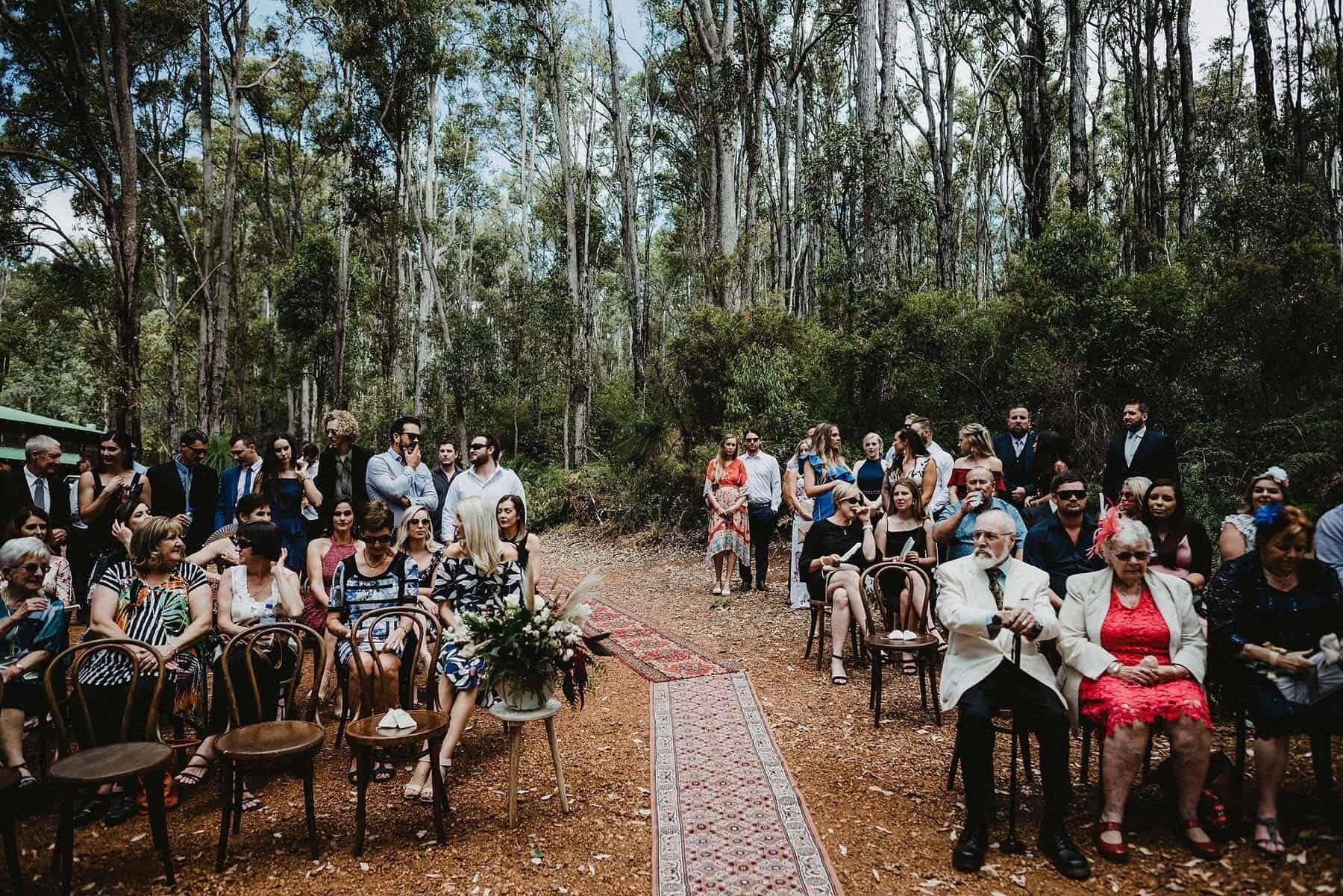South west forest wedding at Nanga Bush Camp / CJ Williams Photography