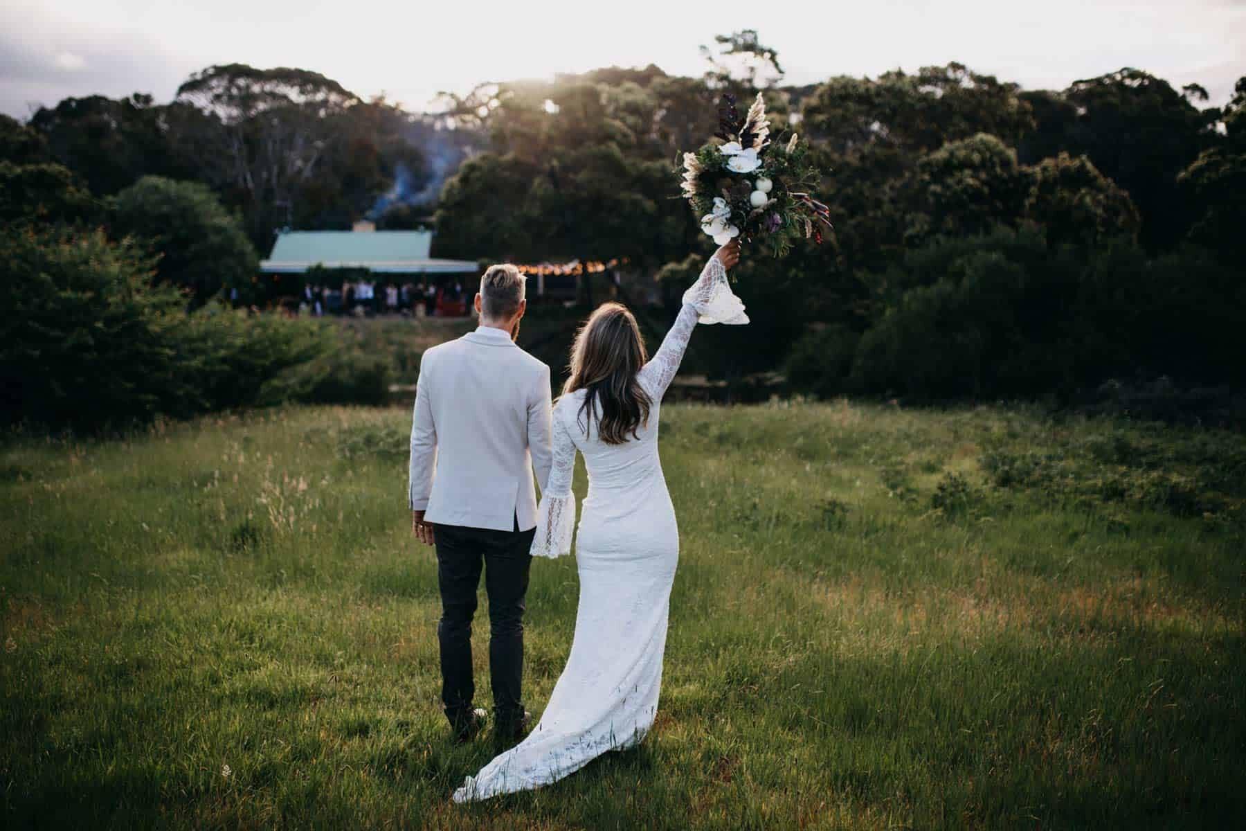 boho Geelong wedding by Kyra Boyer Photography