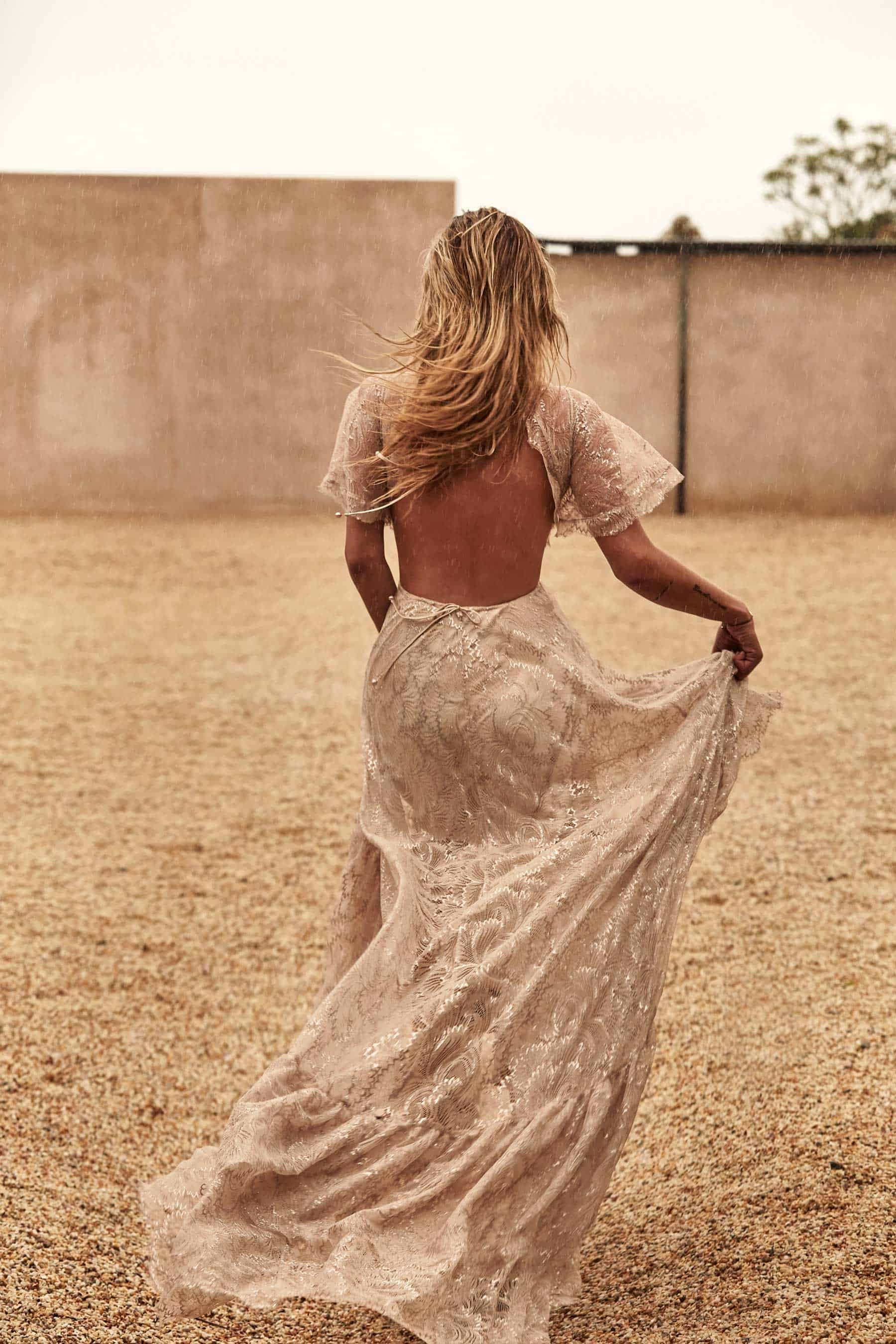 Captri gown - backless wedding dress by Grace loves Lace