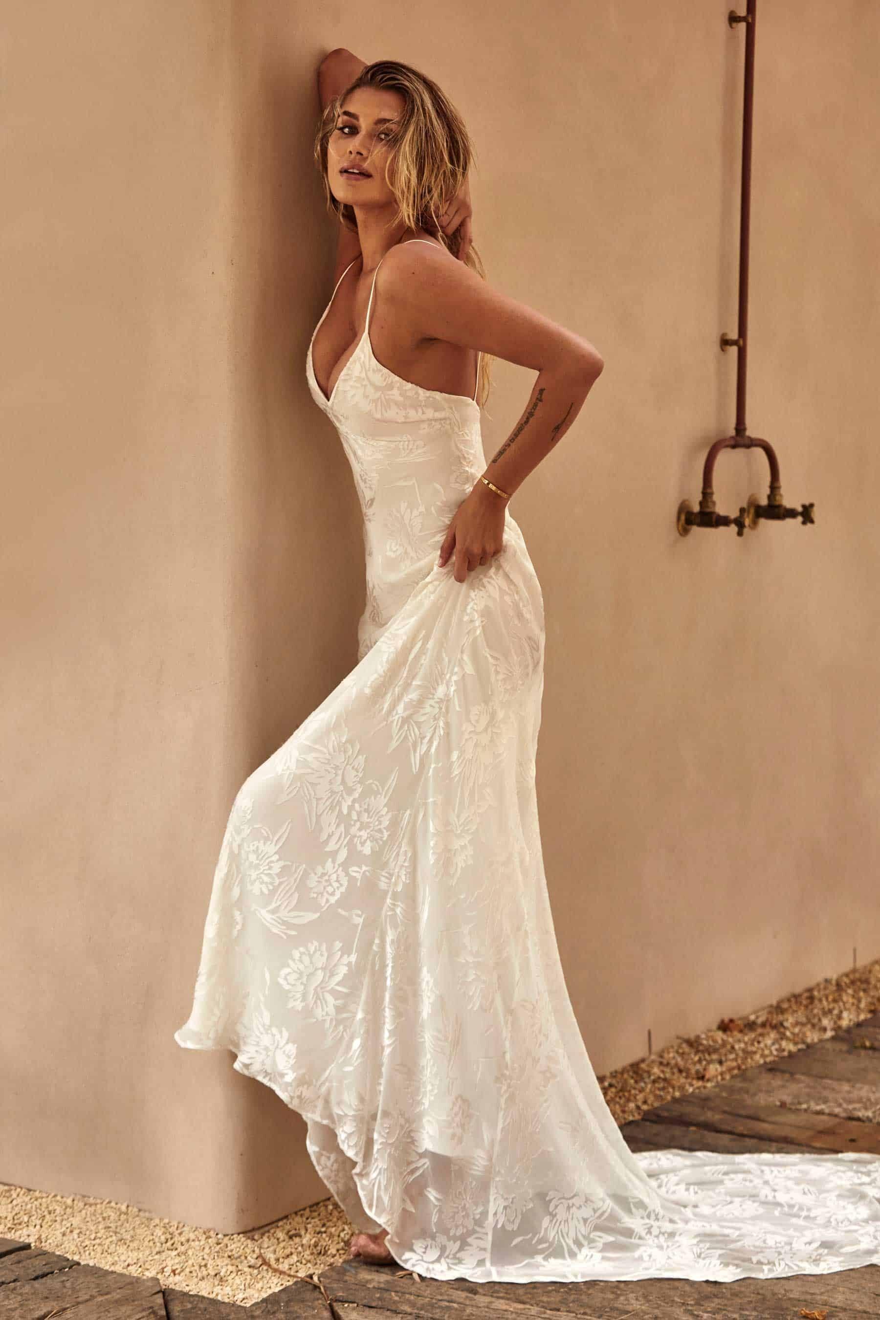 Loyola gown - modern wedding dress by Grace loves Lace