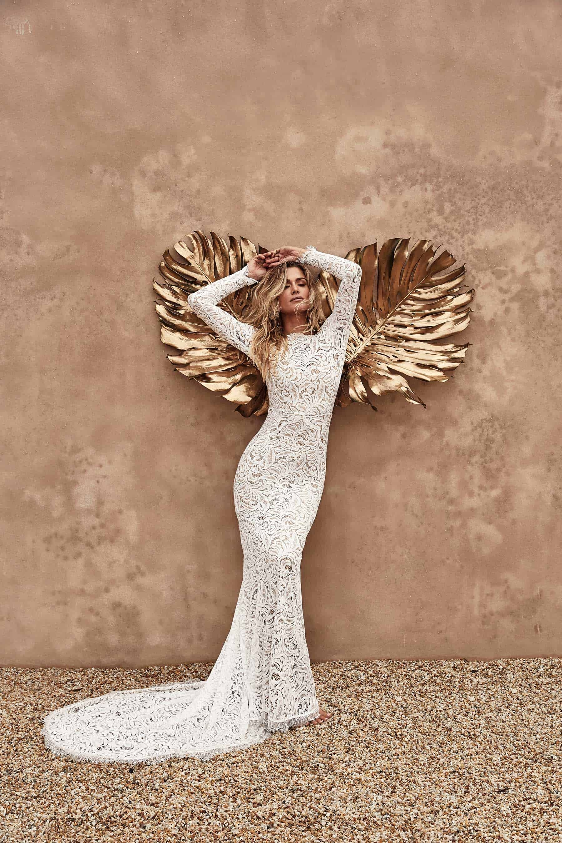 Orla gown - long sleeve wedding dress by Grace Loves Lace