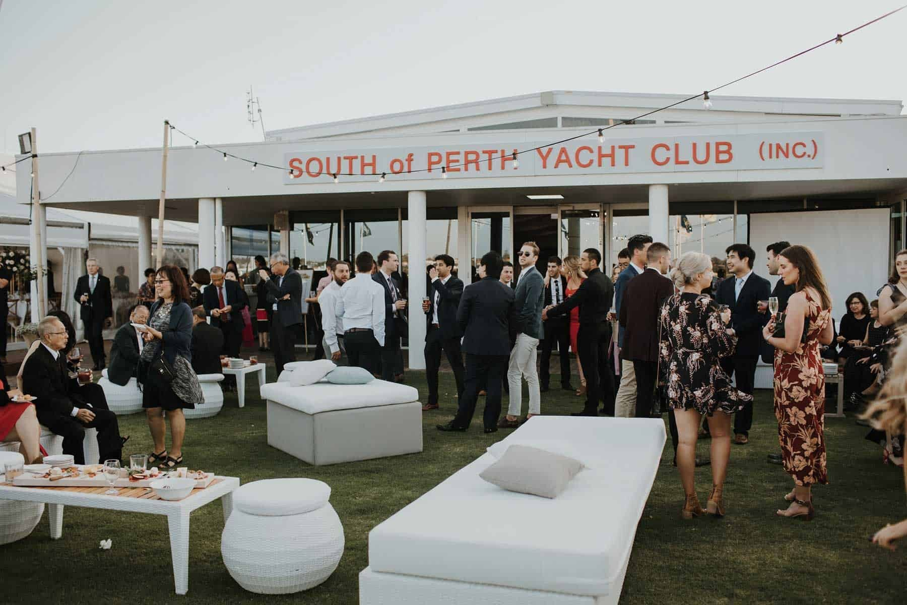 modern-meets-traditional wedding at South Perth Yacht Club