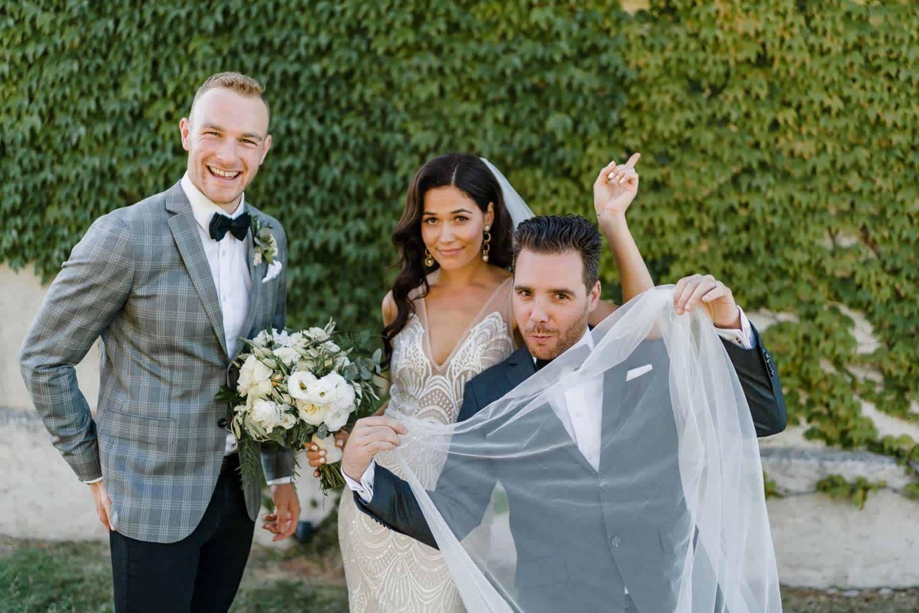 Damon Hughes - fun Melbourne marriage celebrant