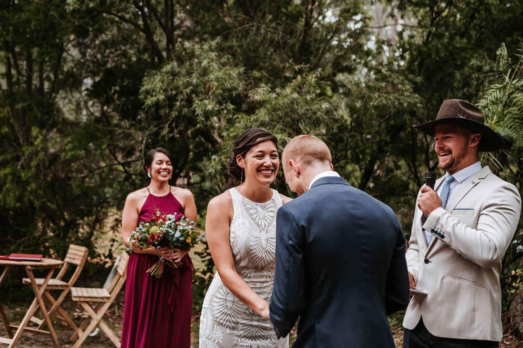 modern Wollongong Illawarra marriage celebrant NSW