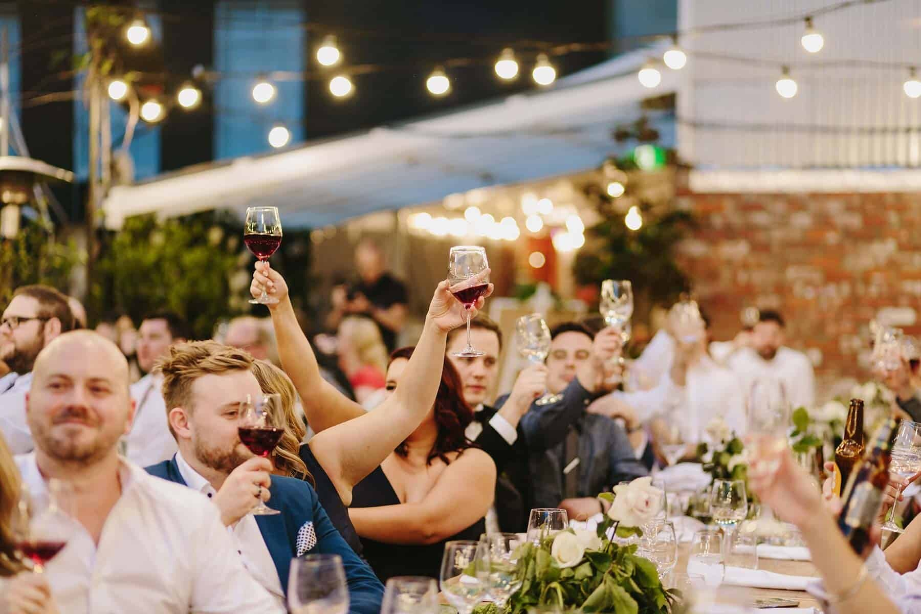 Melbourne rooftop wedding at Tonic House
