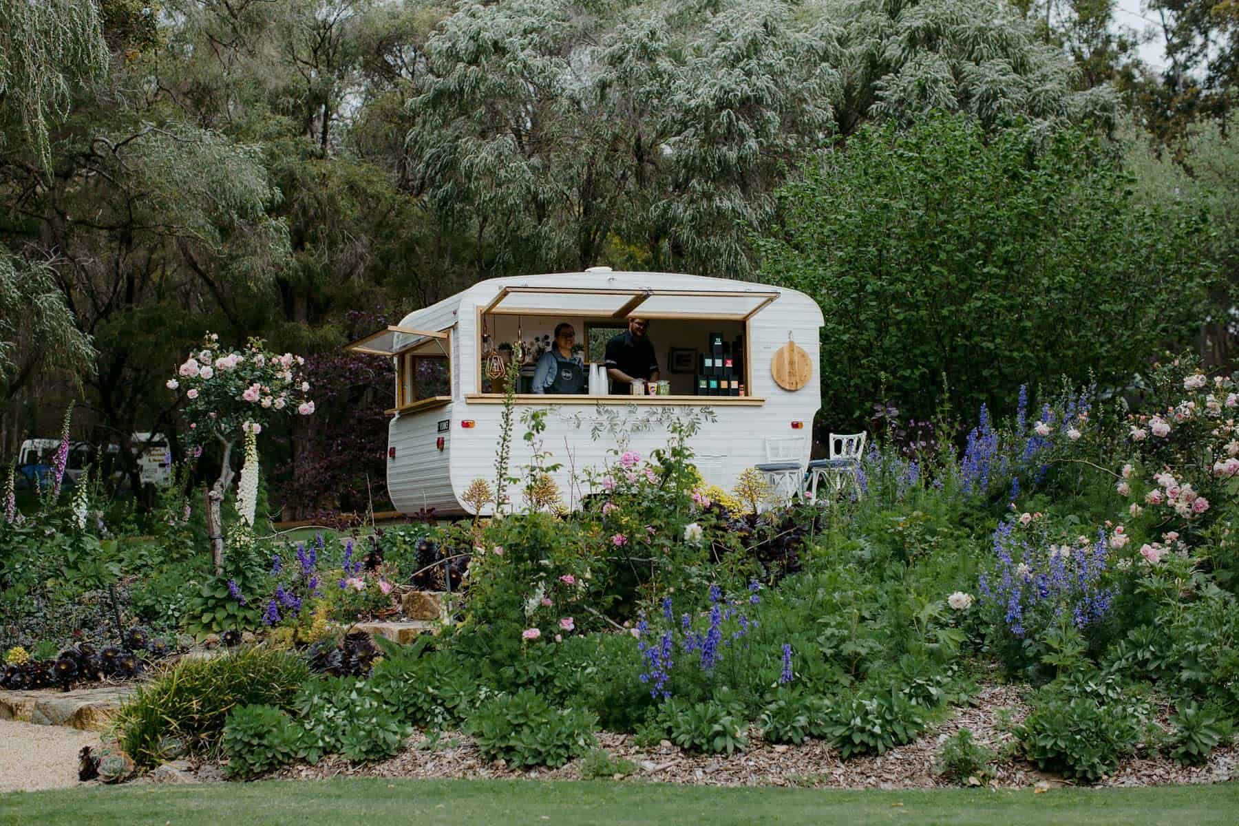 vintage caravan mobile bar hire Perth