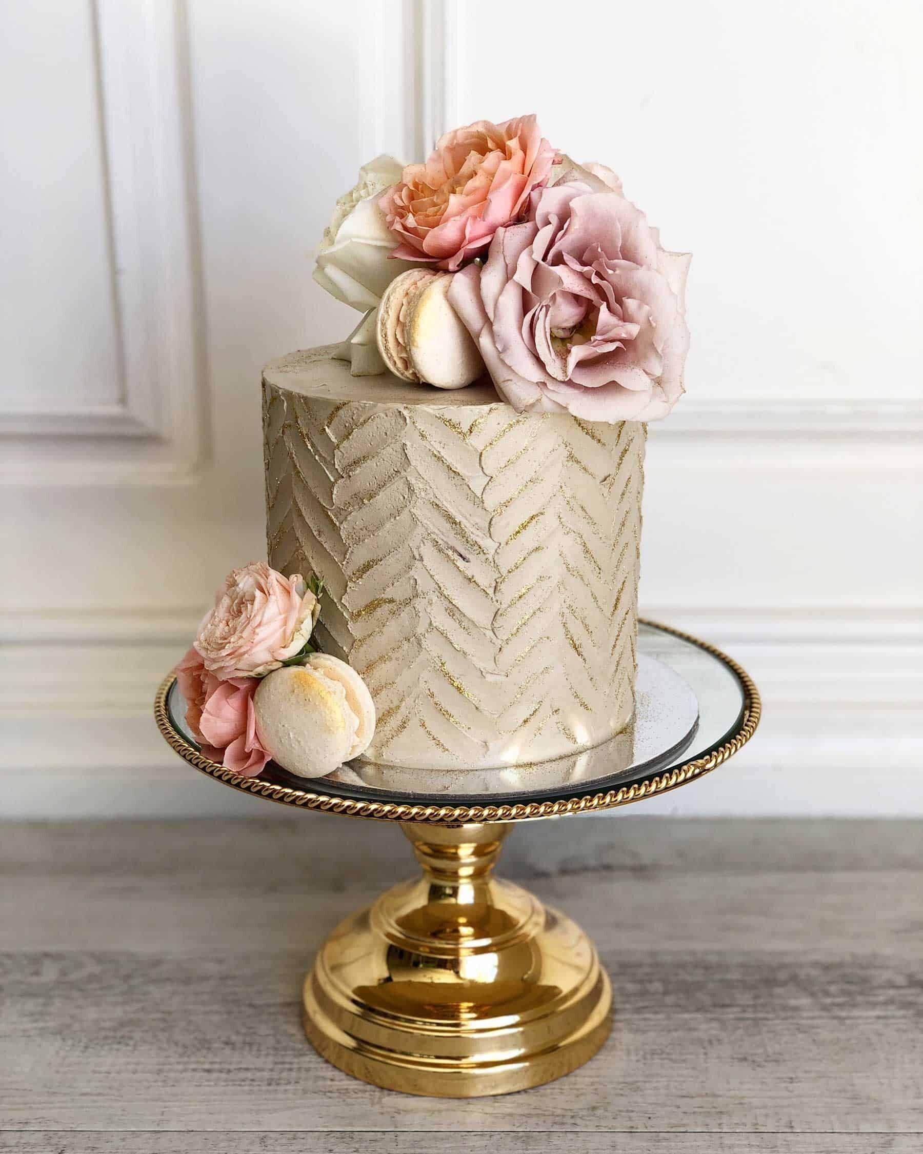 artisnal wedding cakes in Perth WA - Posh Little Cakes