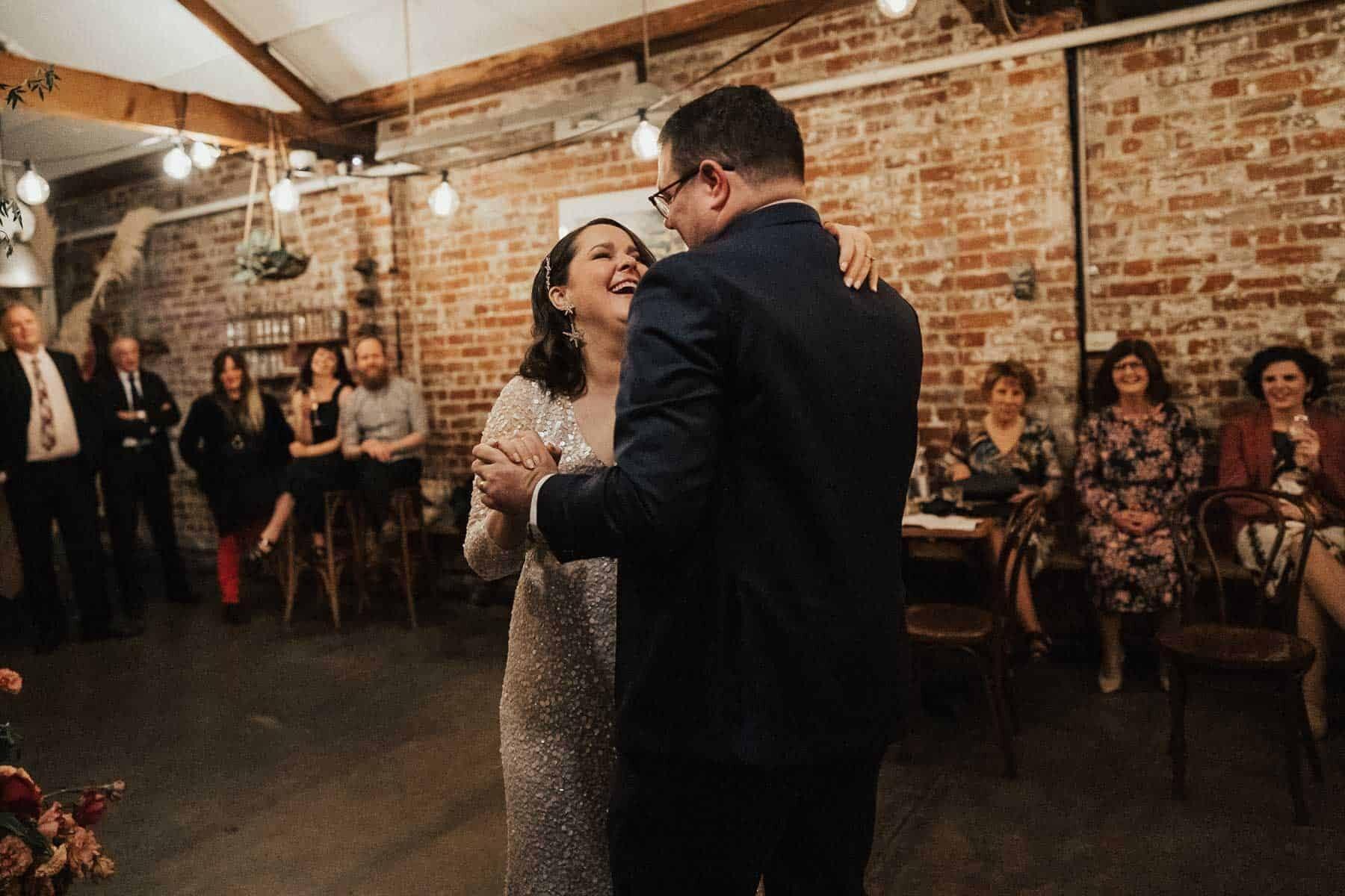 Industrial urban wedding in Brunswick, Melbourne