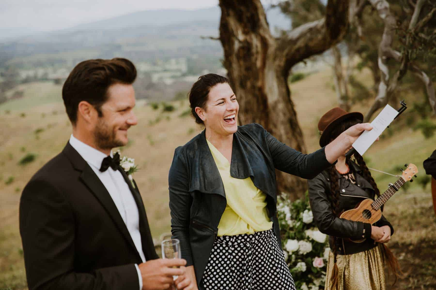 modern marriage celebrant in the Yarra Valley
