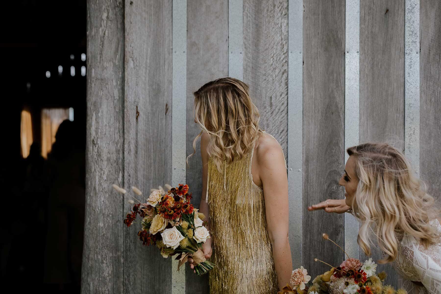 boho vegan festival wedding at Albion Farm Gardens in the Hunter Valley NSW