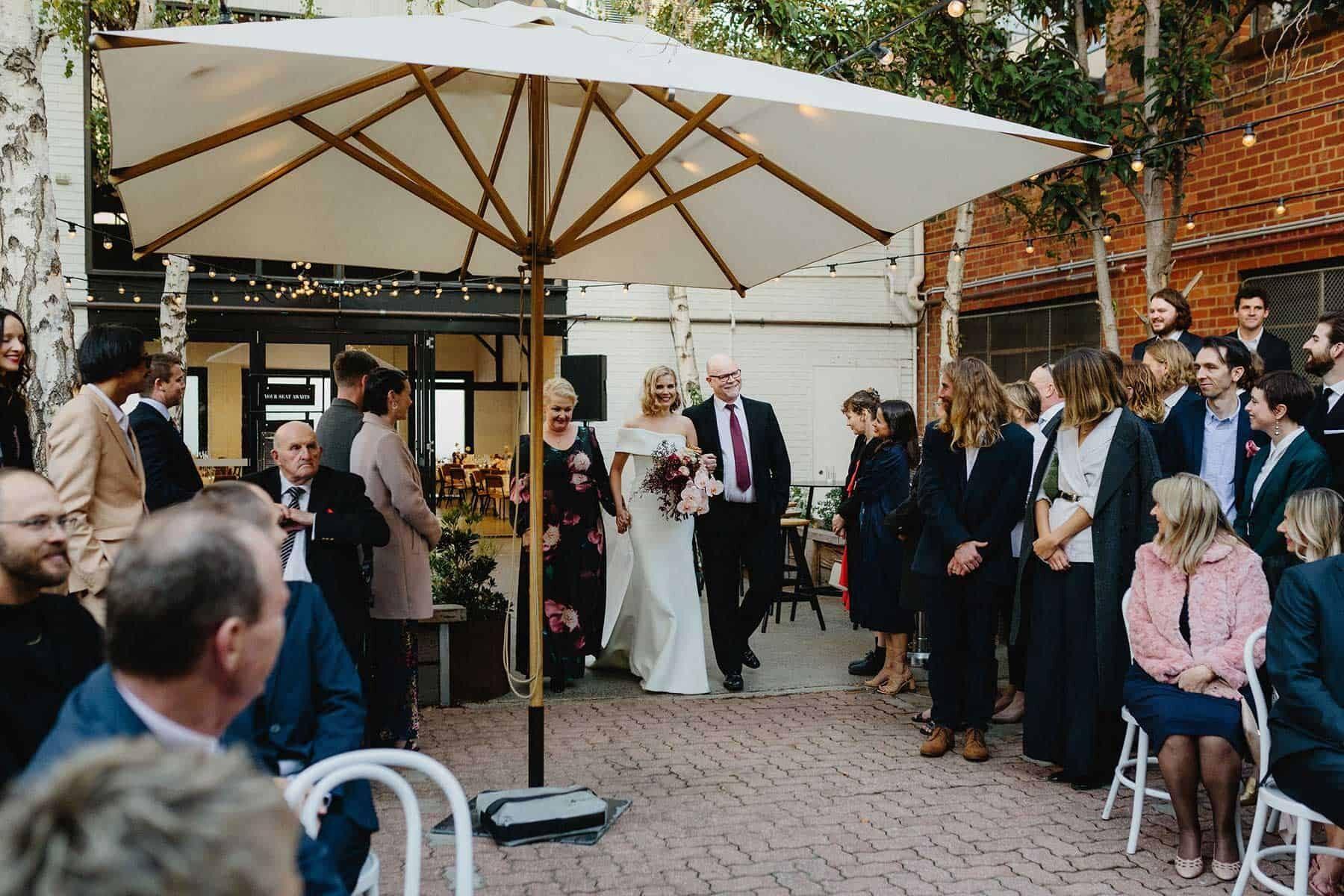 Butler Lane wedding, Melbourne