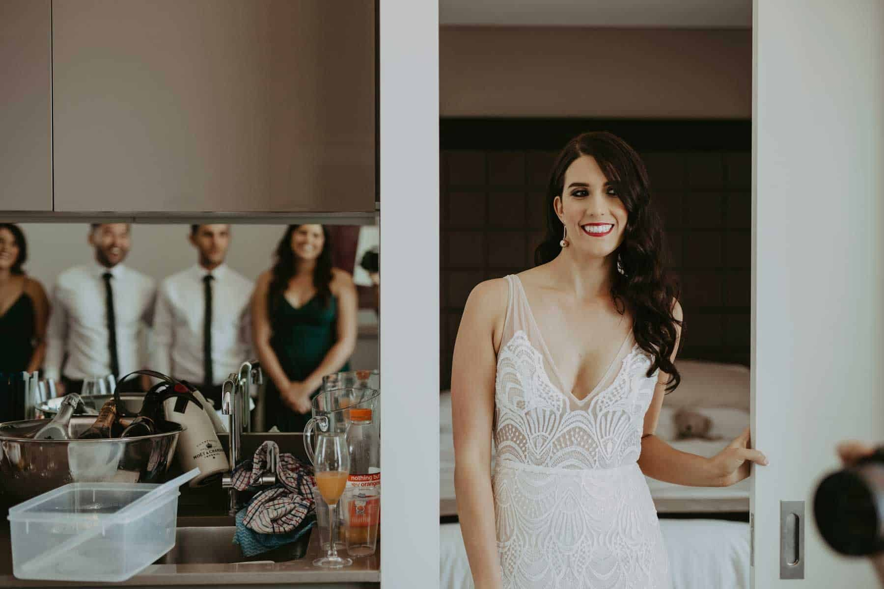 modern wedding dress by Made with Love Bridal