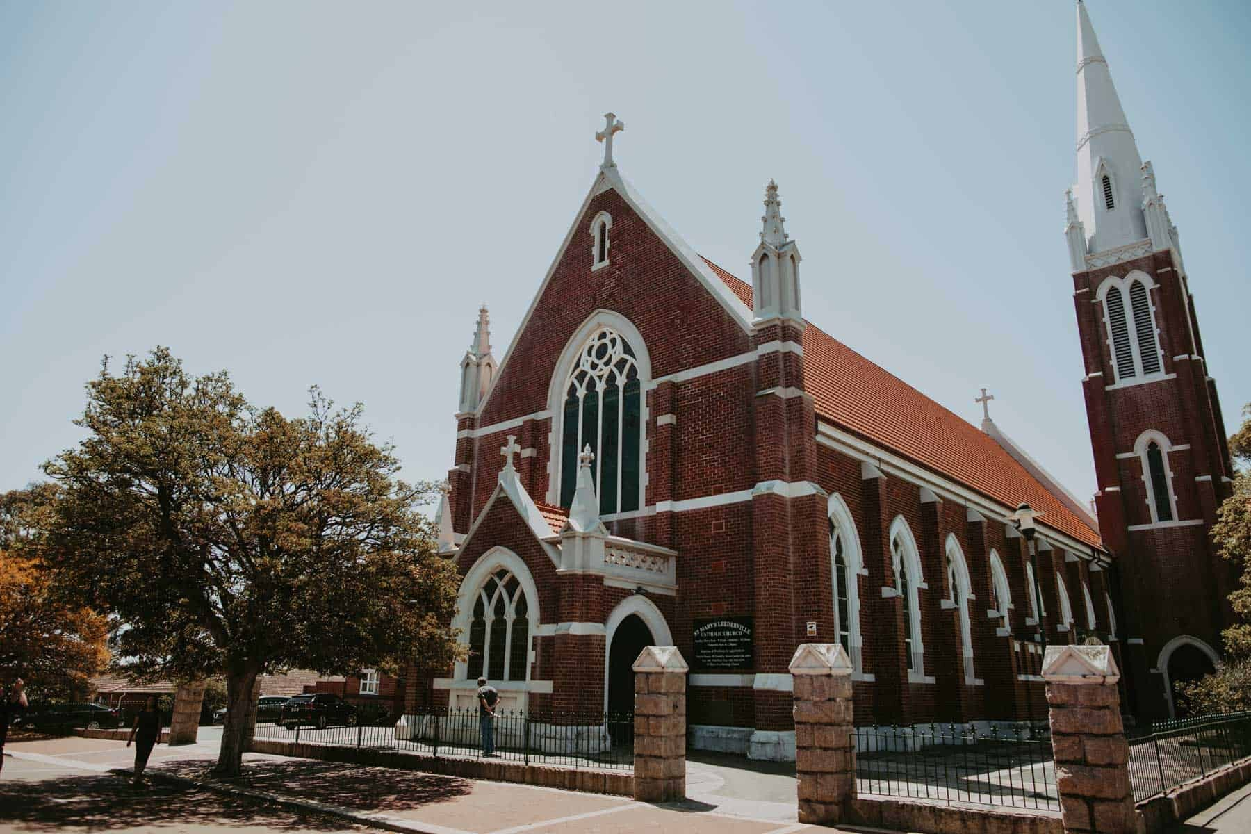 St Mary's wedding Leederville Perth