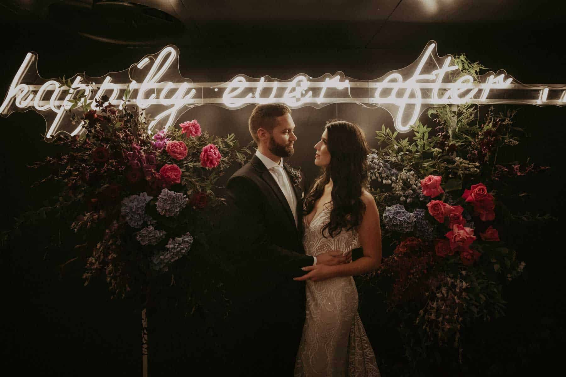 happily ever after neon sigh