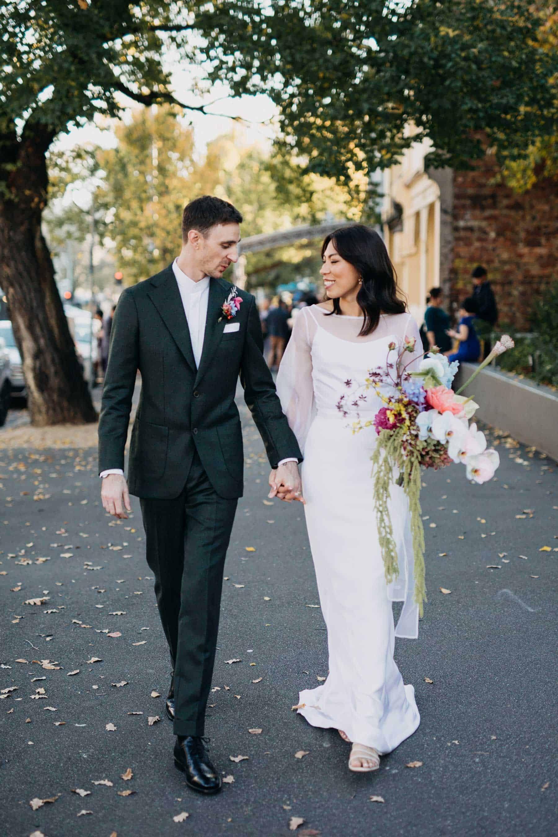 modern Melbourne wedding photographer Kyra Boyer