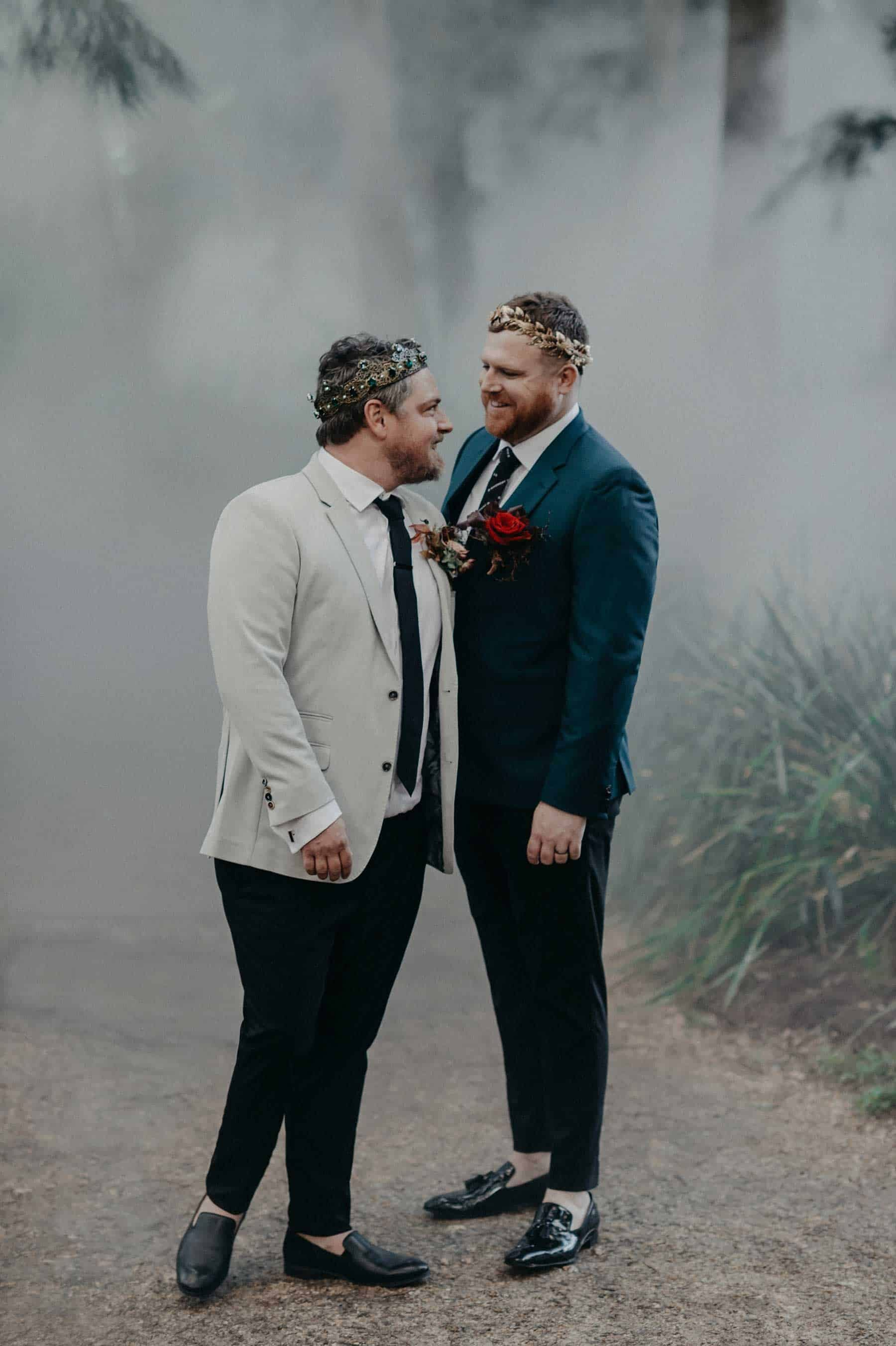 same sex Canberra wedding by Lauren Campbell Photography