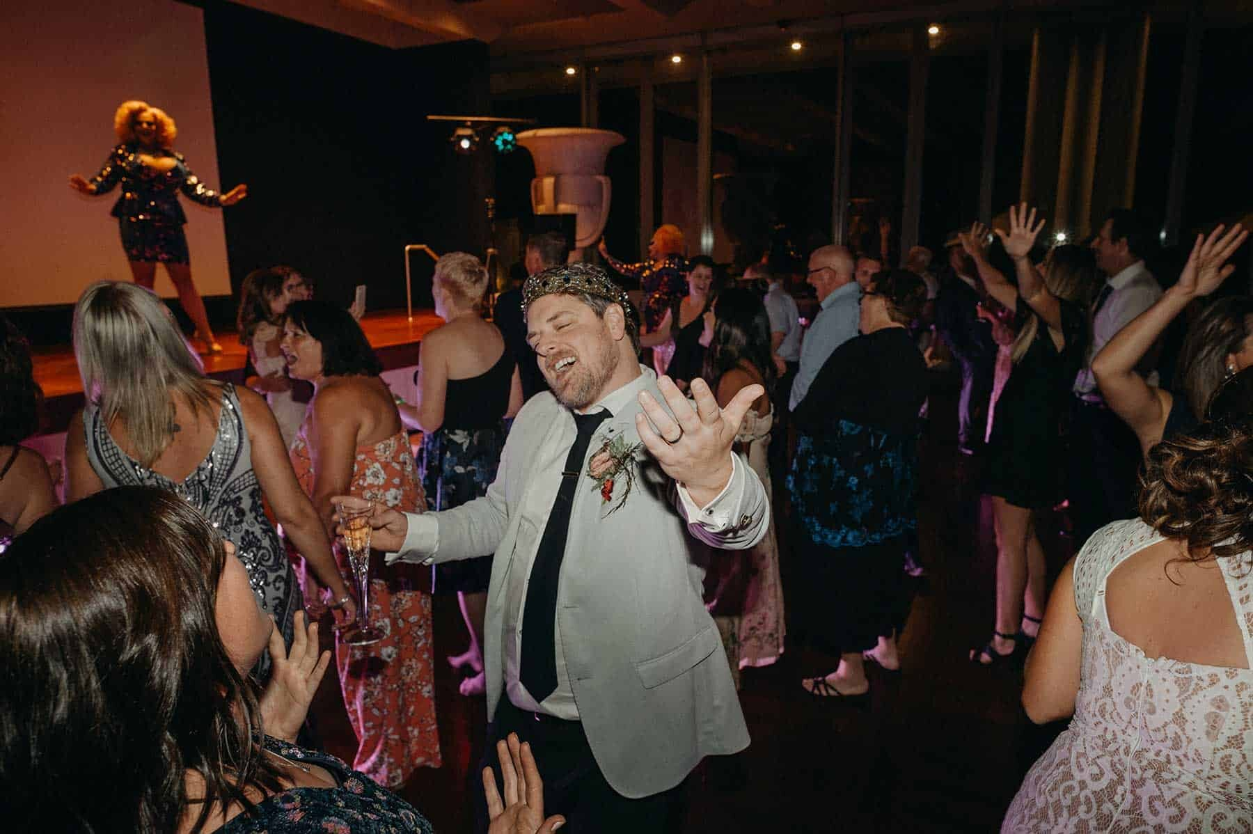 Corey & Nathan's opulent Canberra wedding at the NGA / gay wedding by Lauren Campbell Photography