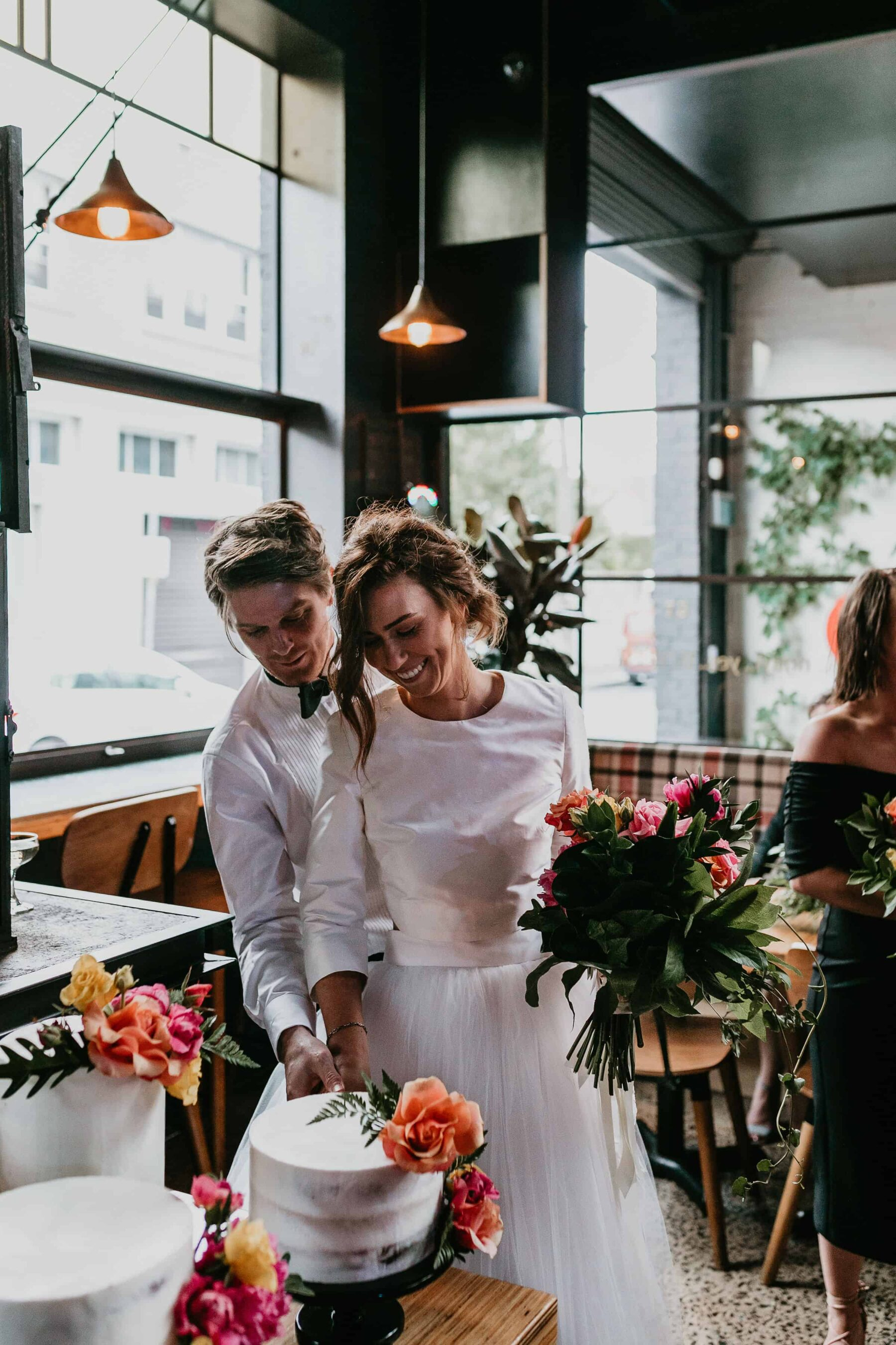 vibrant and industrial Melbourne wedding at Rupert on Rupert in Collingwood