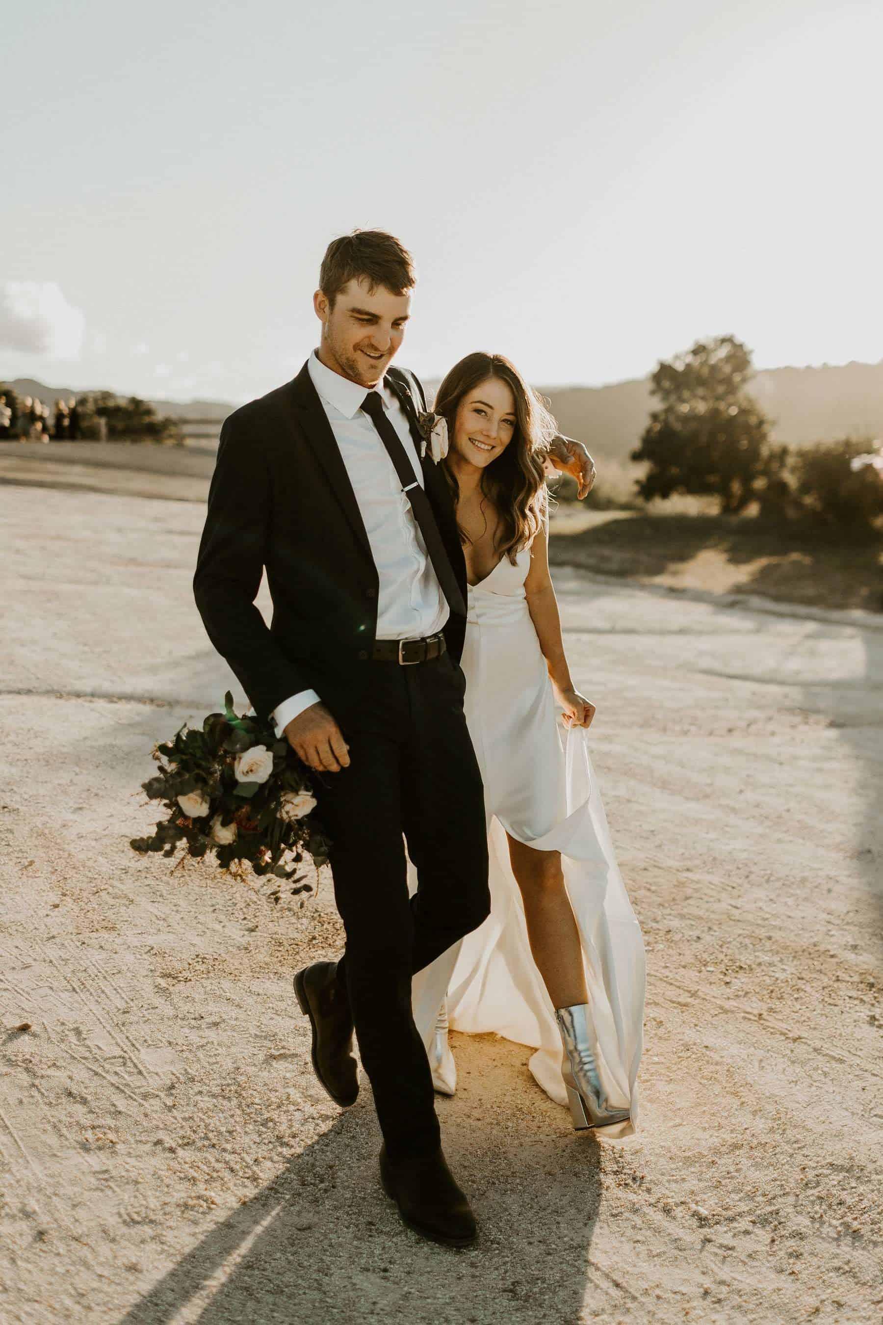 Best wedding dresses of 2019 - simple silk slip gown
