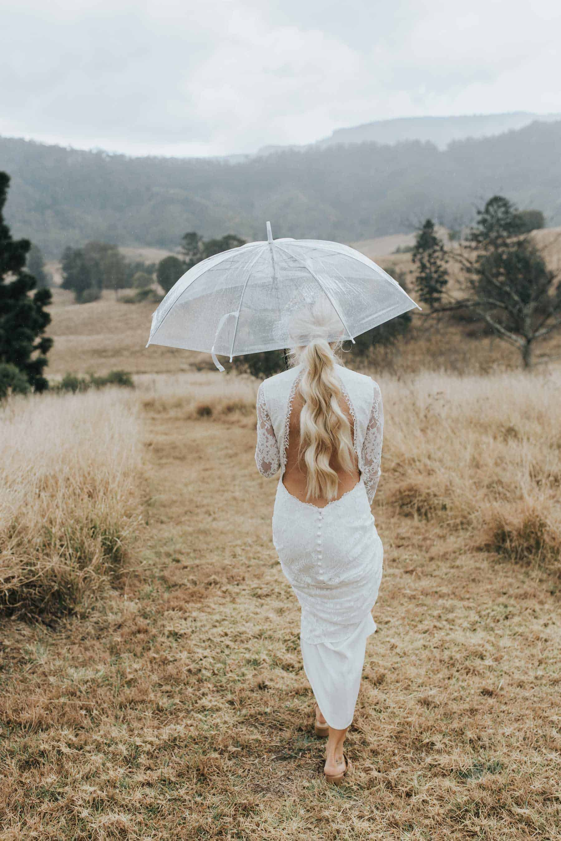 Best wedding dresses of 2019 - high neck backless lace gown by Claire Pettibone
