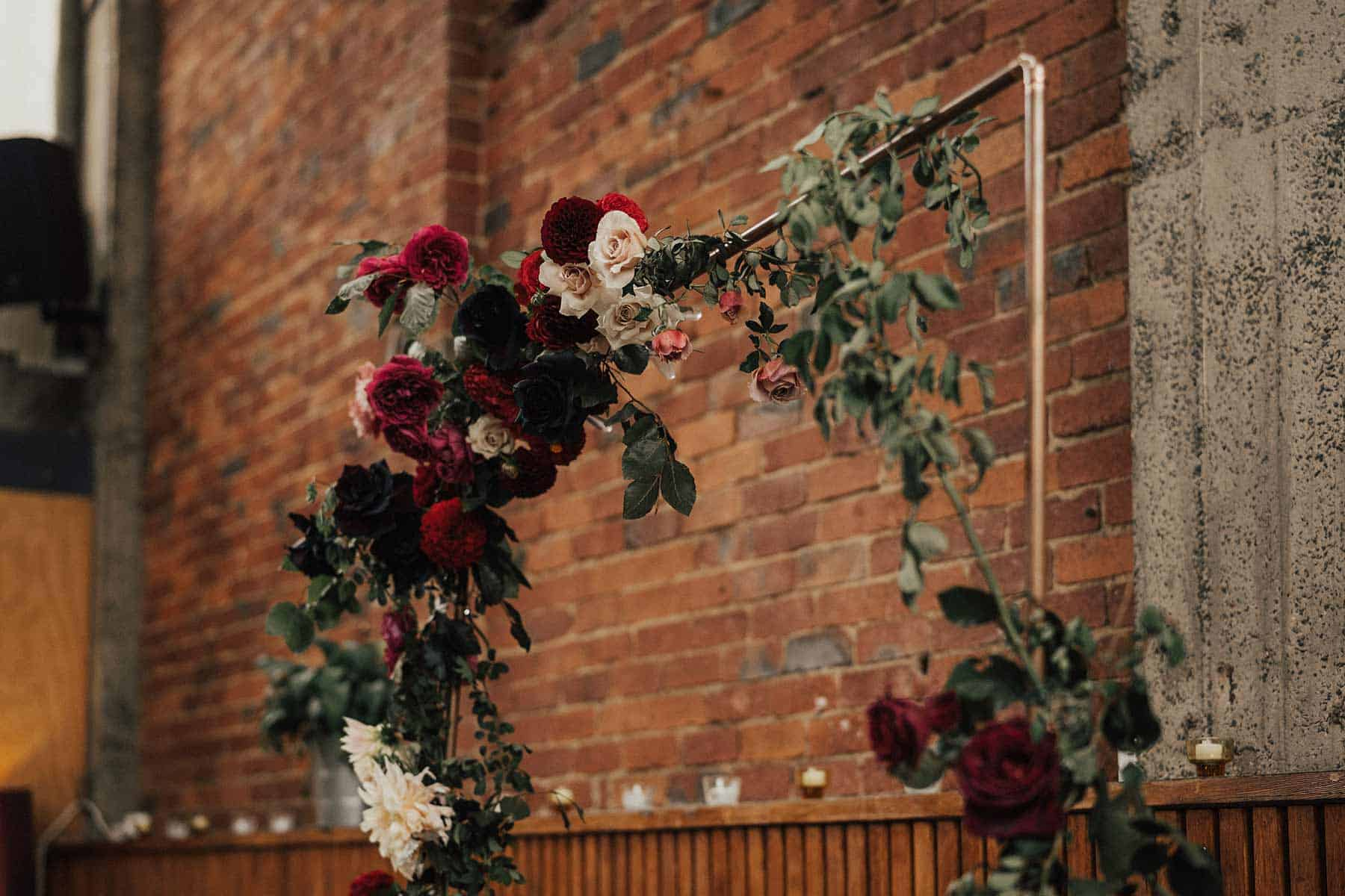 industrial Melbourne wedding at Mountain Goat Brewery