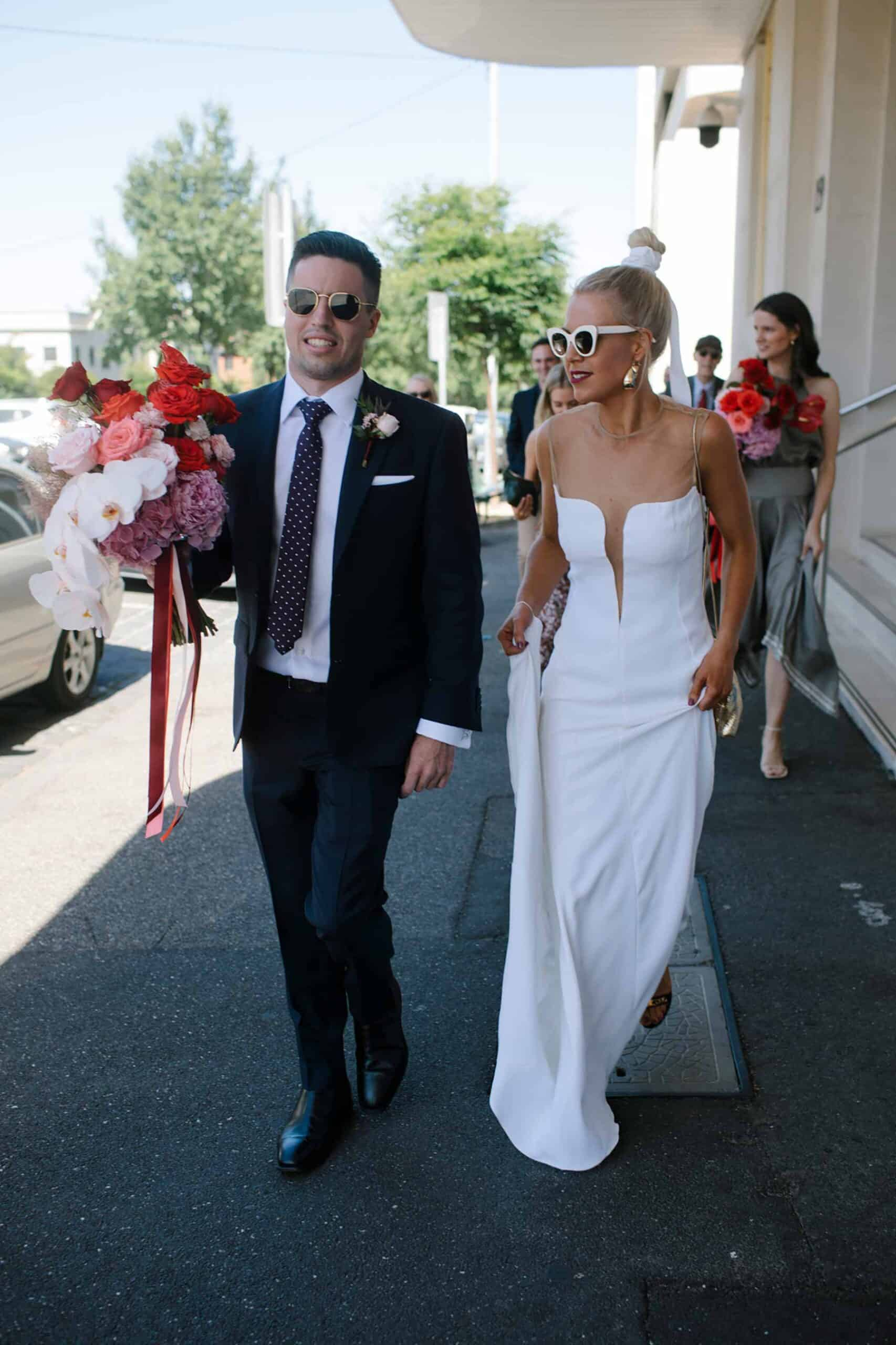 modern Melbourne wedding / photography by It's Beautiful Here