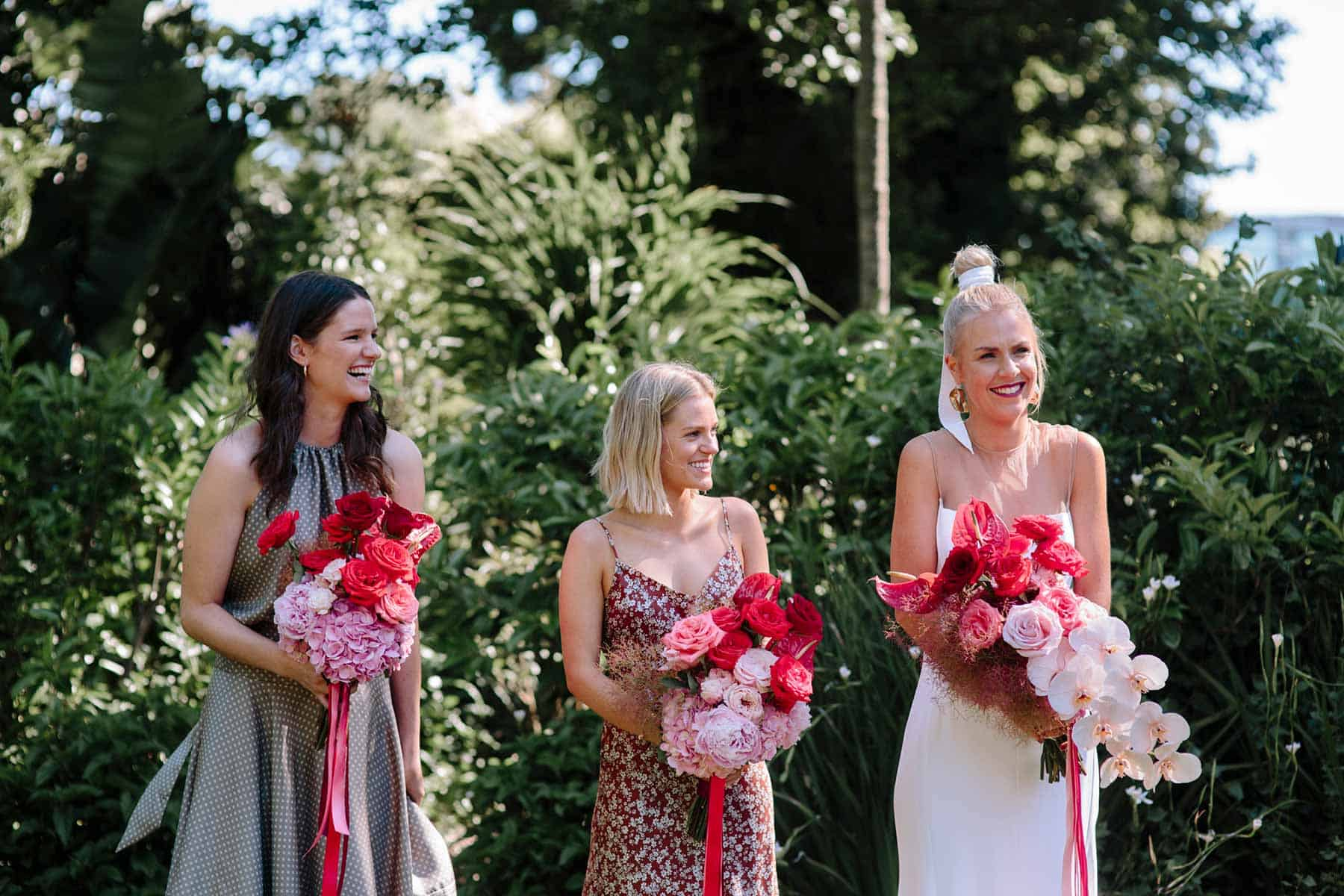 colourful Melbourne wedding at Fitzroy Gardens